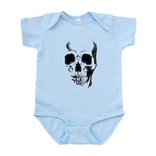 Skull Face Infant Bodysuit