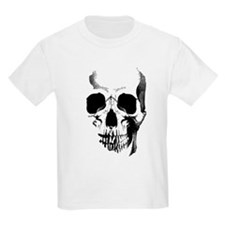 Skull Face Kids Light T-Shirt