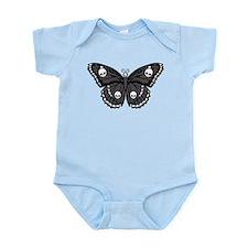 Gothic Skull Butterfly Infant Bodysuit