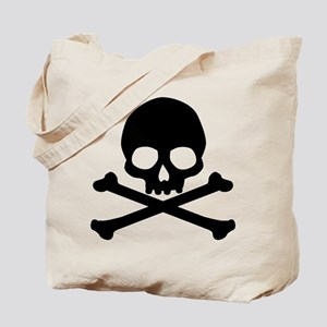 Simple Skull And Crossbones Tote Bag