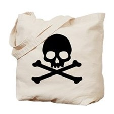 Simple Skull And Crossbones Tote Bag
