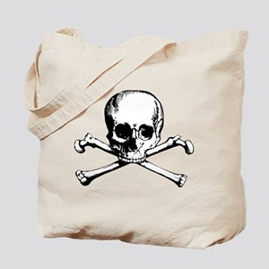Classic Skull And Crossbones Tote Bag