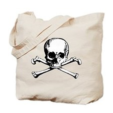Classic Skull And Crossbones Tote Bag
