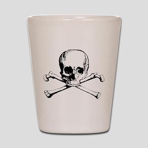 Classic Skull And Crossbones Shot Glass