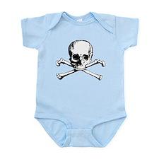 Classic Skull And Crossbones Infant Bodysuit