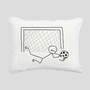 Nice Save! Rectangular Canvas Pillow
