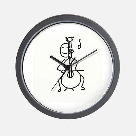 Palo Plays the Cello Wall Clock