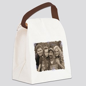 Custom photo Canvas Lunch Bag