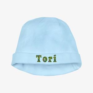 Tori Floral baby hat