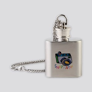 ...Snap Happy... Flask Necklace