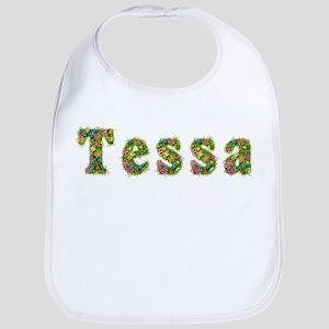 Tessa Floral Bib