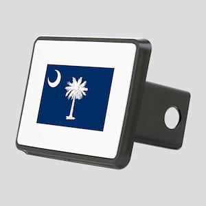 South Carolina State Flag Rectangular Hitch Cover