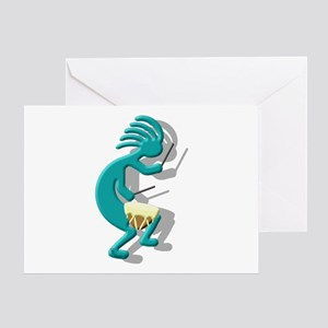 Snare Drum Greeting Card