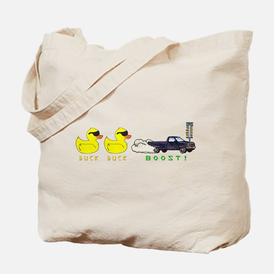 Duck Duck Boost Tote Bag