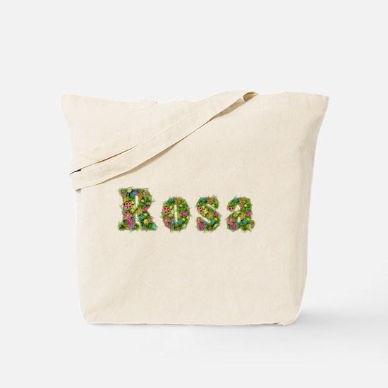 Rosa Floral Tote Bag
