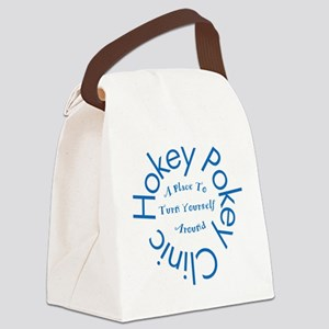 Hokey Pokey Clinic Canvas Lunch Bag