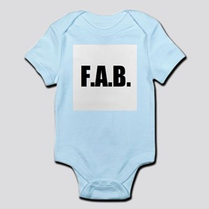 F.A.B. Infant Bodysuit