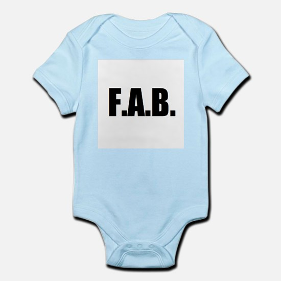 F.A.B. Infant Bodysuit
