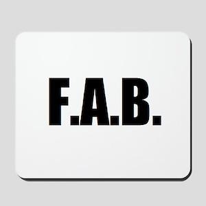 F.A.B. Mousepad
