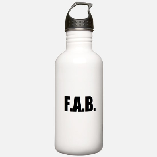 F.A.B. Water Bottle