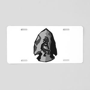 Arrowhead Aluminum License Plate