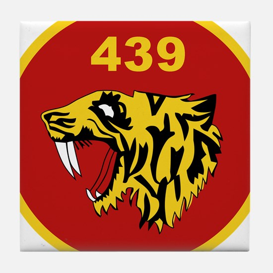 439 Sabre-Toothed Tiger Squadron Patch canada Tile