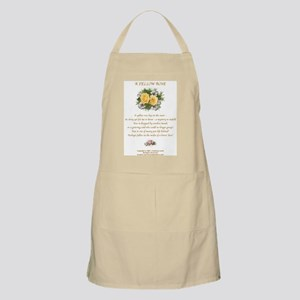 A Yellow Rose BBQ Apron