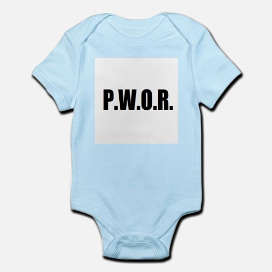 P.W.O.R. Infant Bodysuit