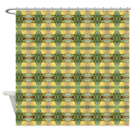 Jr Sci Fi Shower Curtain By FunkyFabricDesigns