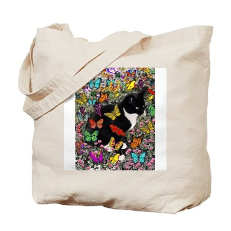 Freckles in Butterflies Tote Bag
