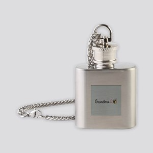 Grandma To Bee Flask Necklace