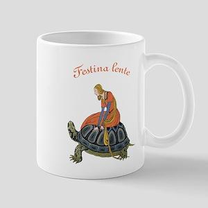 Festina Lente Mug