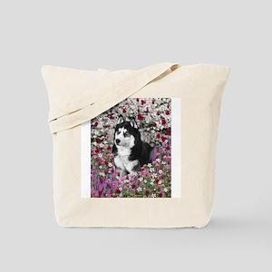 Irie in Flowers Tote Bag