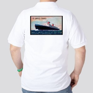 The SS United States Liner Golf Shirt