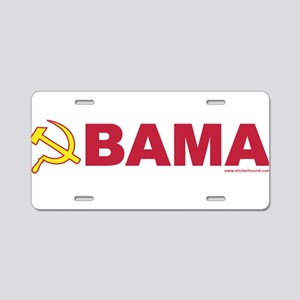 obamarussian_whiteredyellow Aluminum License P