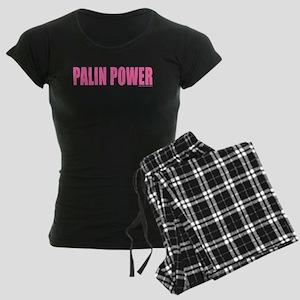 palinpower_pink.png Women's Dark Pajamas