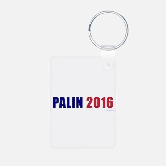 palin2016.png Aluminum Photo Keychain