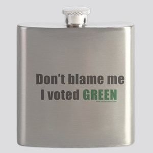 dontblameme_green Flask