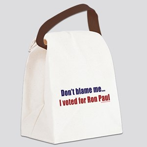 dontblameme_ronpaul Canvas Lunch Bag