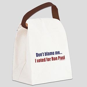 dontblameme_ronpaul Canvas Lunch Bag