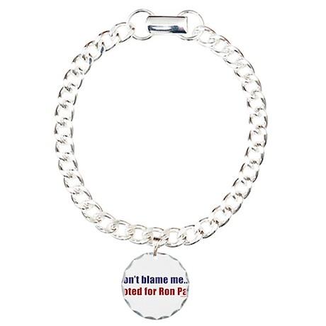 dontblameme_ronpaul Charm Bracelet, One Charm