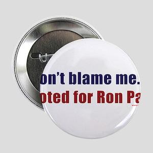 """dontblameme_ronpaul 2.25"""" Button (100 pack)"""
