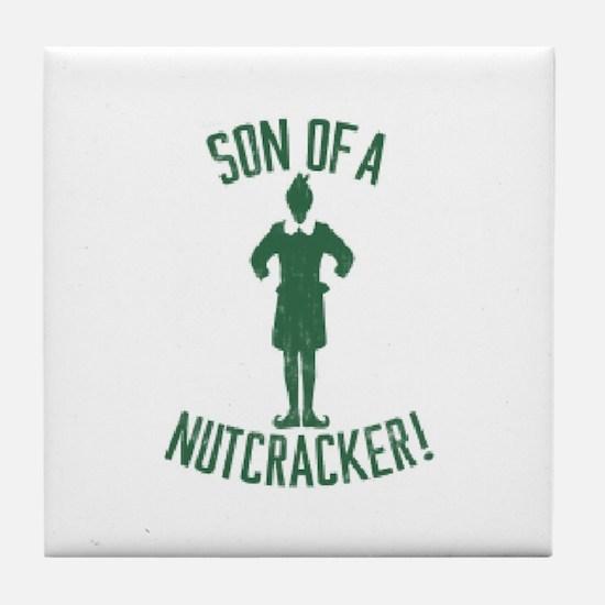 Son of a Nutcracker! Tile Coaster