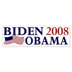 Biden-Obama 2008 bumper sticker