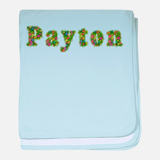 Payton Floral baby blanket