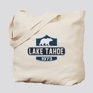 Lake Tahoe Nature Badge Tote Bag