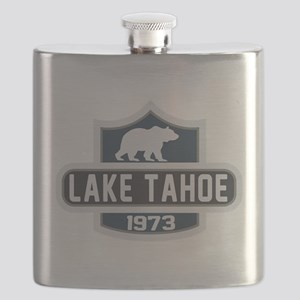 Lake Tahoe Nature Badge Flask