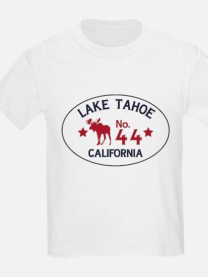 Lake Tahoe Moose Badge T-Shirt