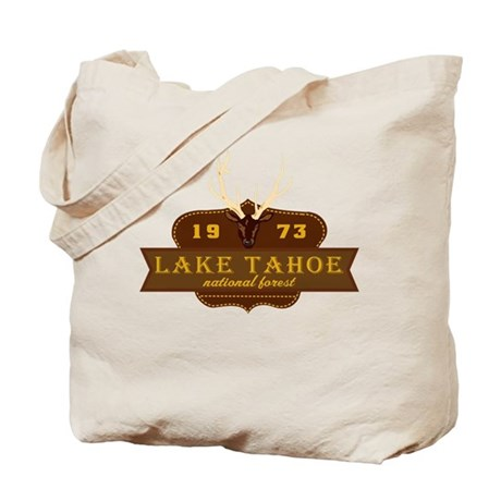 Lake Tahoe National Park Crest Tote Bag