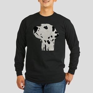 Dalmatian Dog Long Sleeve Dark T-Shirt